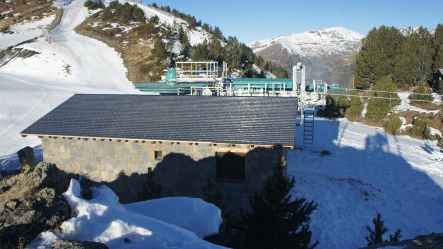 Panel pizarra en Andorra