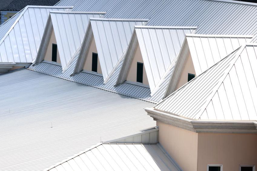 Unique triangle metal roof designed for maximum rain repulsion